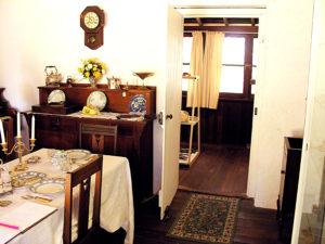 Halls Cottage Dining Room